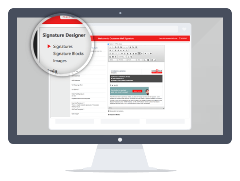 bild Crossware Mail Signature – Zentrales Signaturen-Management