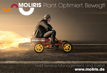 MOLIRIS by CoMo Solution – bild Field Service Management